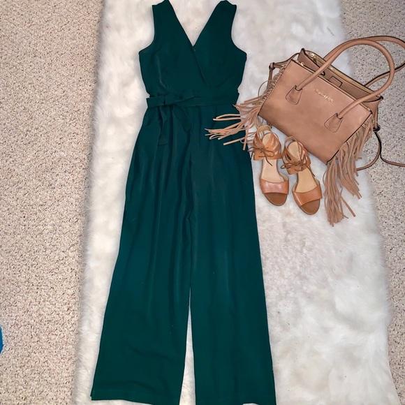 15077d44c5df Jumpsuit - Romper emerald green. NWT. Monteau